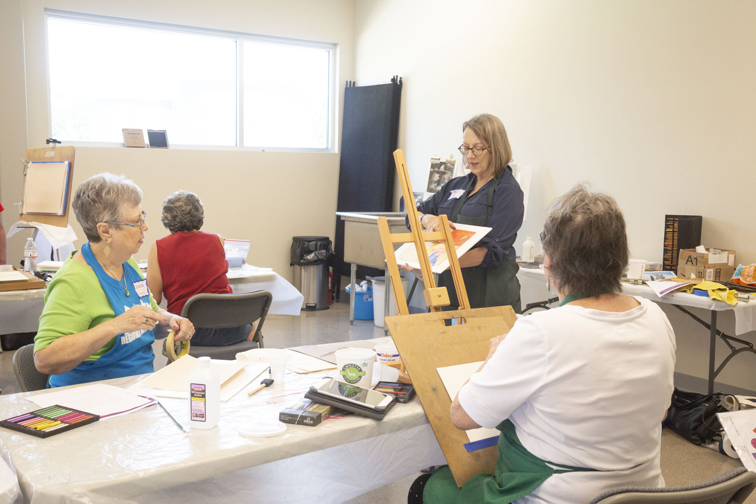Pastel Class with Enid Wood