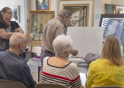 Egg Tempera Class with Jim Clay