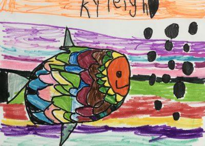 Kyleigh Koliba, Kindergarten