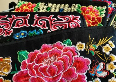 Embroidered Wallets