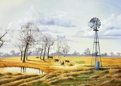 """Autumn Windmill"" by Mike Henderson"