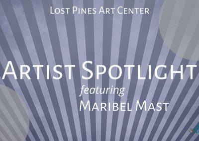 Featured Artist, Maribel Mast
