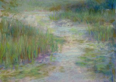 Maribel Mast, Misty Morning, Pastel