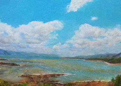 Kay Hughes- Low Water, Lake Arenal, Oil
