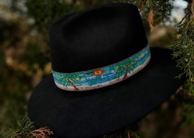 Vic Vreeland- Water Hat Band, Seed Beads
