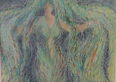 Vicky Balcou- Monsoon, Wax, Crayola