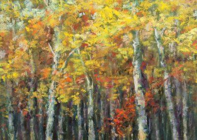 Autumn Gold, Pastel