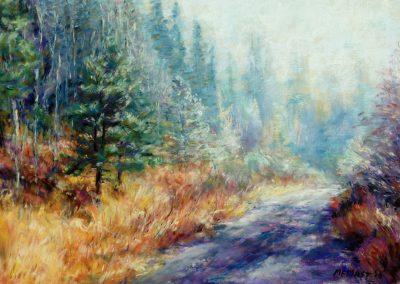 Misty Mountain Road, Pastel